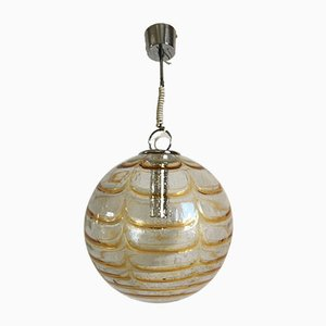 Spherical Ceiling Lamp from Mazzega, 1970s