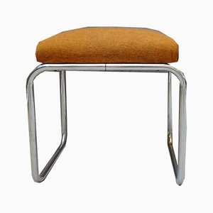 Steel Pipe Stool by Marcel Breuer for Mauser Werke Waldeck, Germany, 1940s