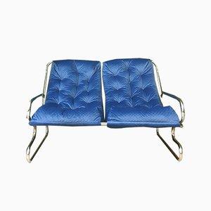 Vintage Metallrahmen Sofa