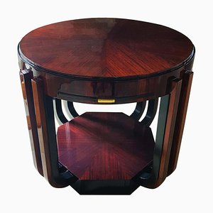 Art Deco Rosewood Game Table from Atelier Majorelle, France, 1920s