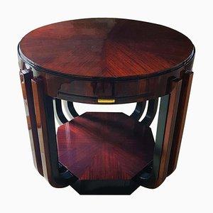 Art Deco Spieltisch aus Palisander von Atelier Majorelle, Frankreich, 1920er