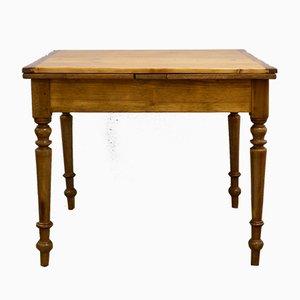 Petite Table de Salle à Manger à Rallonge Antique