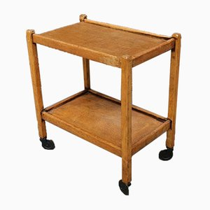 Oak Tea Trolley, 1920s
