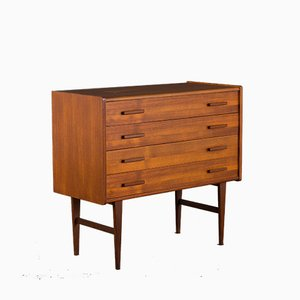 Mid-Century Danish Chest of Drawers in Light Teak