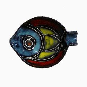 Mid-Century Fish Ashtray