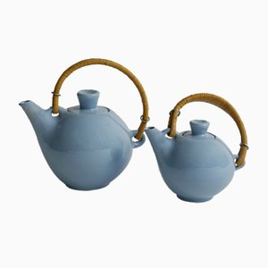 Finnish Tea Pots, 1950s, Set of 2