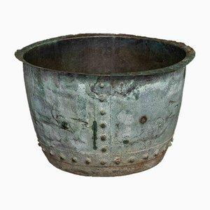 Viktorianischer Kupfer Übertopf