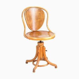 Chaise Pivotante de Bureau ou de Musique Nr.1 de Thonet, 1920s