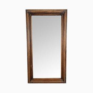 Rechteckiger Vintage Spiegel mit Spiegelfüßen