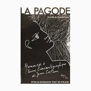 Poster by Jean Cocteau, 1970s