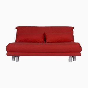 Multi Red Fabric Sofa with Sleep Function from Ligne Roset