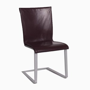 Weinroter Stuhl von Ronald Schmitt