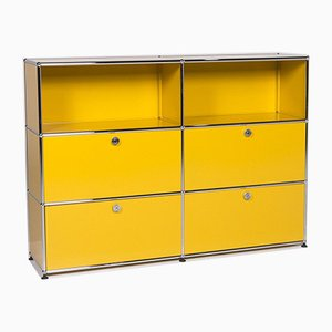Yellow Sideboard from USM Haller