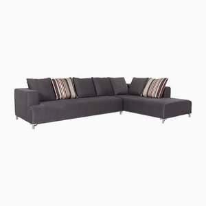 Opium Anthracite Grey Fabric Corner Sofa by Didier Gomez for Ligne Roset