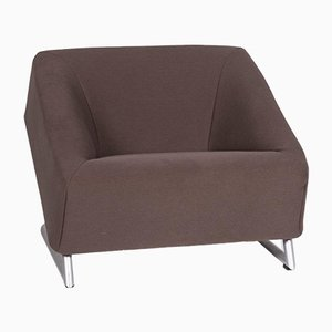 Freestyle Brown Fabric Armchair from Rolf Benz