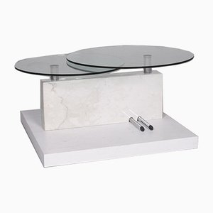 Glass and Marble Function Coffee Table from Rolf Benz