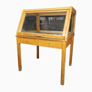 Display Showcase Cabinet, 1940s