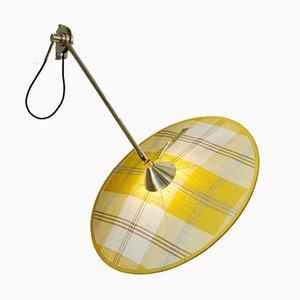Portofino Wall Lamp #1 in Yellow Tartan by Servomuto