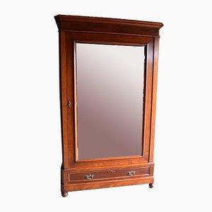 Antique Mahogany Mirror Cabinet