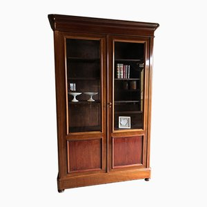Large Antique Mahogany Bookcase