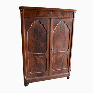 Antique Mahogany Maid Cupboard