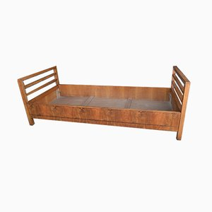 Vintage Walnut Bed