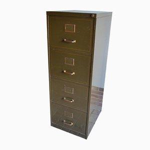 Vintage Green Metal Dresser