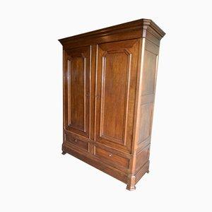 Antique Louis Philippe Oak Cabinet