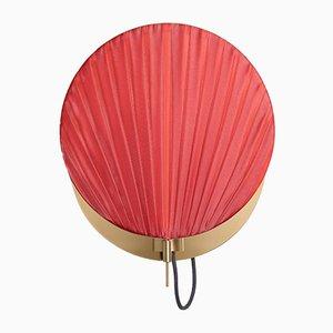 Lámpara de pared Guinea #3 en rojo brillante de Servomuto