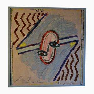 Reinier Lucassen, Portrait, Screen Print, 1981