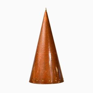 Scandinavian Cone-Shaped Copper Pendant Lamp