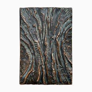 Rechteckige Art Tür Türgriffe aus Bronze, 2er Set