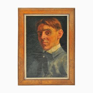 Early 19th Century Dutch Self Portrait of an Artist