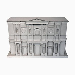 Classical Architectural Model of the Basilica San Lorenzo by Michelangelo
