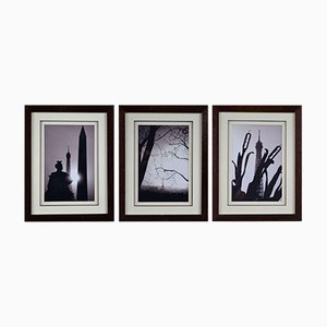 Photograph Tryptic of Paris Eiffel Tower by Antonio Brigandí, Set of 3