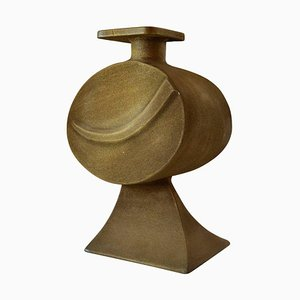 Large Sculptural Bronze Vase by Nuro, 1980s