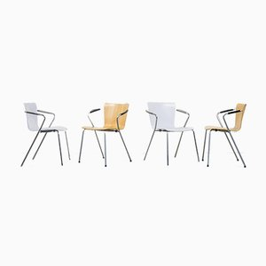 VicoDuo Armchairs by Vico Magistretti for Fritz Hansen, 2001, Set of 6