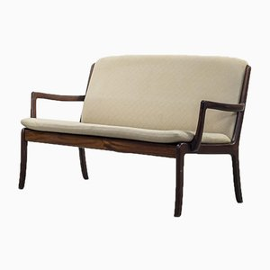 Mid-Century 2-Seat Sofa by Ole Wanscher for P. Jeppensen