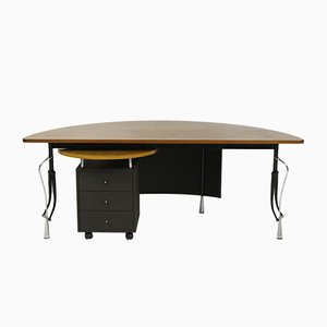 Vintage Desk with a Module La Vuelta by Perry King & Santiago Miranda for Akaba
