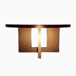 Runder Esstisch von Casa Milano, 1980er