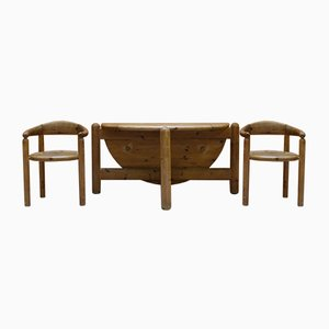 Dining Table & Chairs Set by Rainer Daumiller for Hanex, 1980s, Set of 6