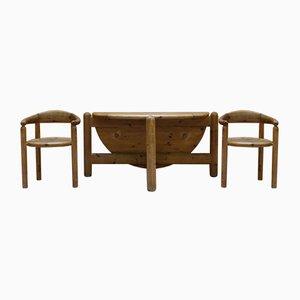 Set Table de Salle à Manger & Chaises par Rainer Daumiller pour Hanex, 1980s, Set de 6