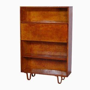 Birkenholz Bücherregal Modell BB02 von Cees Braakman für Pastoe, 1952