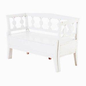 Small Antique Swedish Gustavian Bench
