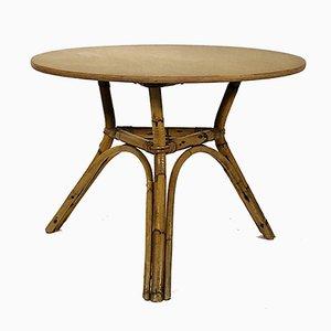 Table Basse en Bambou, France, 1960s