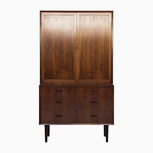 Mid-Century Danish Rosewood Cabinet from Lyby Møbler, 1960s