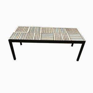 Table Basse Mid-Century par Roger Capron, 1960s
