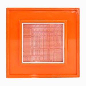 Orange Cinetic Art Multiple from Urano Palma, 1971