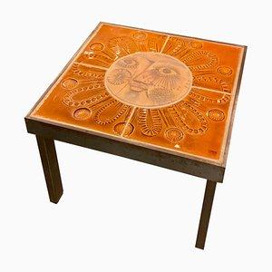 Tavolino da caffè Sun di Roger Capron, anni '60