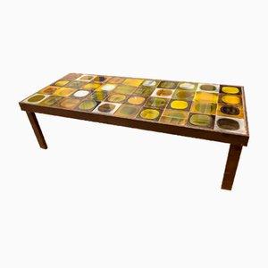 Tavolino da caffè Planete di Roger Capron, anni '60